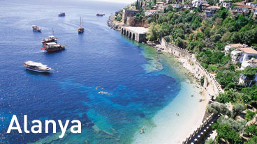 Harbor and The Ancient Shipyard in Alanya