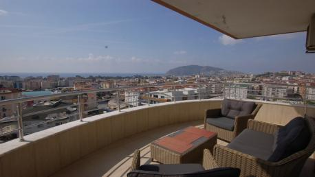 Seaview resale apartment for sale in Alanya Penthouse for sale in Alanya