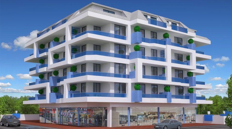 Квартиры на пляже Алании, Оба - Продажа квартир на пляже Алании, в Оба