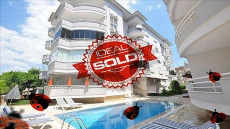 sold apartment alanya oba