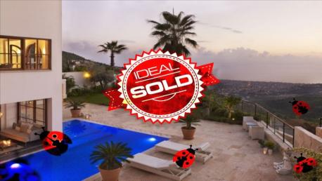 sold villa in bektaş alanya