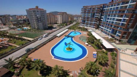Crytal Park apartmnt for sale in Alanya