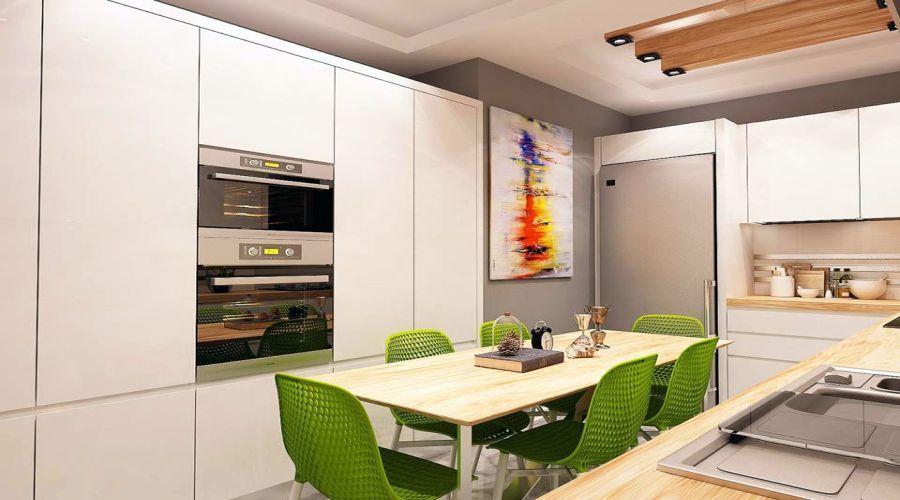 Квартира на продажу в Измире - Новая квартира для продажи в Измире.
