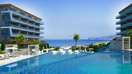 Luxury apartments for sale in Kargicak in Alanya