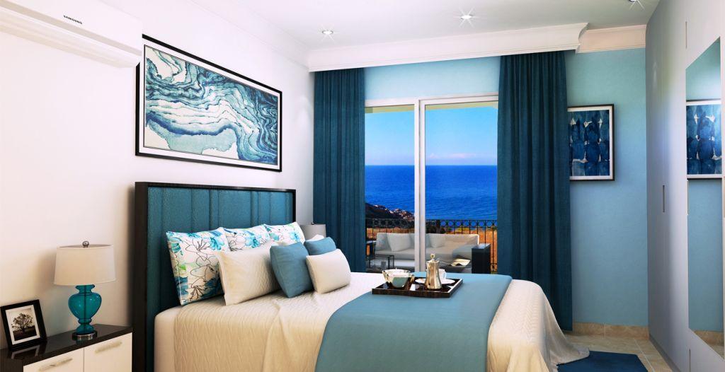 2 or 3 Bedroom Garden & Penthouse Apartments Project in Nort - Апартаменты с садом и пентхаусом с видом на море на продажу на Северном Кипре