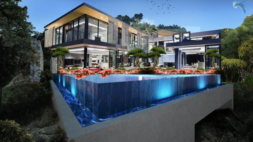 Wonderful Luxury Property For Sale In Alanya By IDEAL Real Estate. Unique Desing,  Stunning Sea View And Real Privacy At A Luxury Villa In Alanya