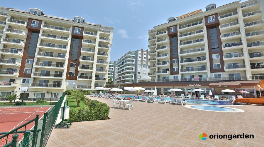 партаменты с видом на море в Авса - Вид на море 1 спальная квартира на продажу