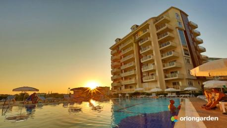 Orion garden apartment for sale in Alanya Avsallar