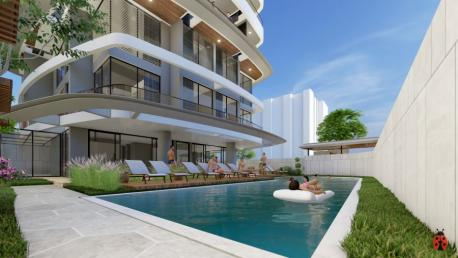 Cleopatra Beach apartments for sale in Alanya Litore