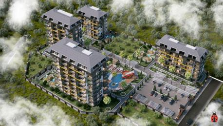 Apartment in Avsallar for sale Alanya Olive Paradise