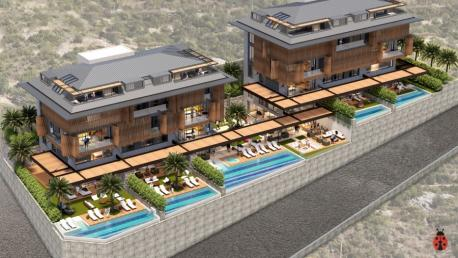 Blue Vista Apartments for sale in Alanya