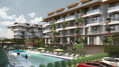 Green life Oba apartments for sale in Alanya