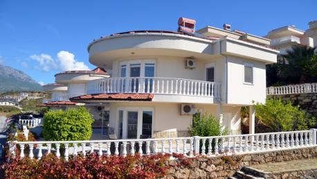 Kargicak seaview villa for sale in Alanya Turkey