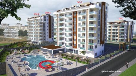 Orion VI Apartments in Alanya