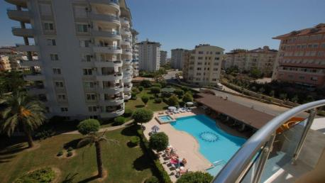 Orange Garden Alanya Resale Apartment for Sale in Cikcilli Alanya