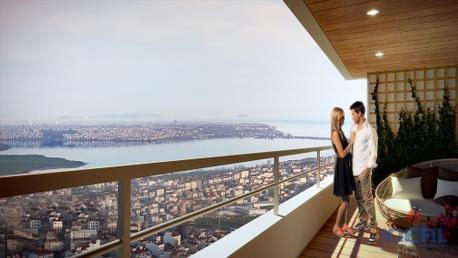 Towers apartments in Istanbul