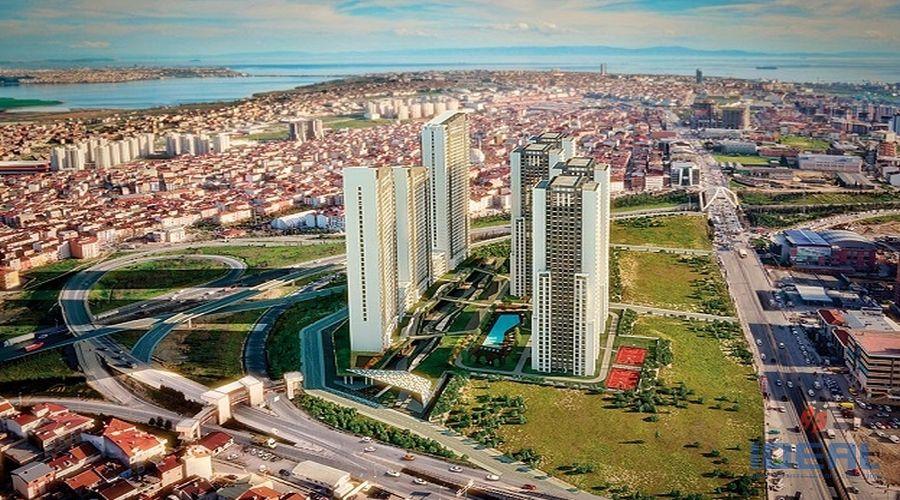 Недвижимость в Стамбуле. - Апартаменты в Стамбуле. Есенйурт  Тавер