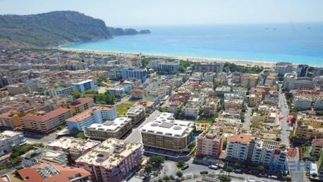 Property in Alanya at Cleopatra Beach in the center of Alanya, Alanya apartments