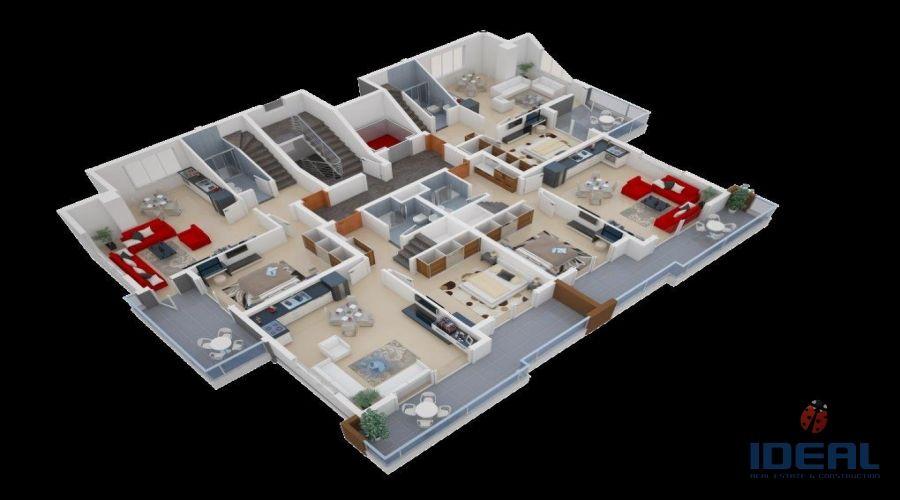Продажа квартир в Махмутларе. - Продажа апартаментов в Махмутларе.