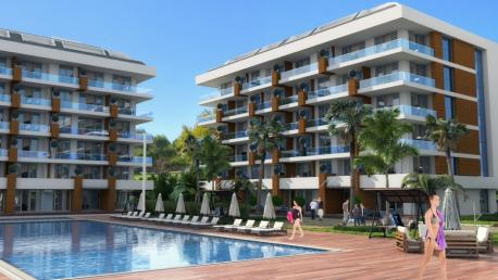 Rising Blue Alanya seaview apartments for sale in Alanya Kestrel Turkey