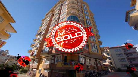 sold apartment in Alanya