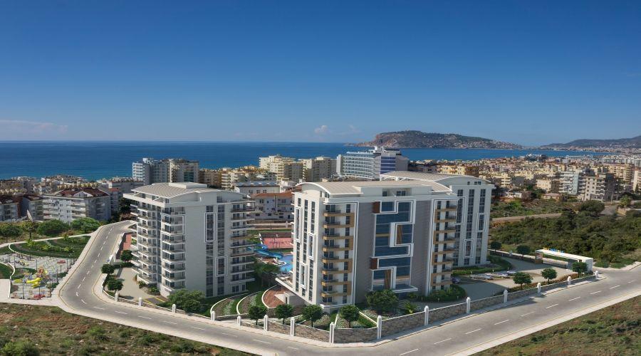 Продажа квартир с видом на море   - Квартиры с видом на море, Алания