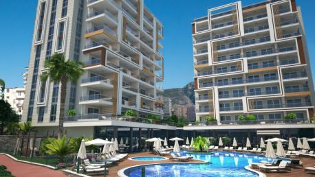 Seaview Alanya Apartments for Sale in Alanya Tosmur