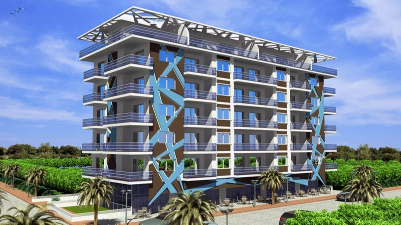 Affordable Apartments Mahmutlar Alanya