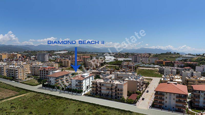 Бриллиантовый пляж 2 - Доступные квартиры рядом с пляжем,Аланья