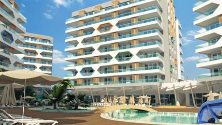 Emerald Park Apartments in Avsallar