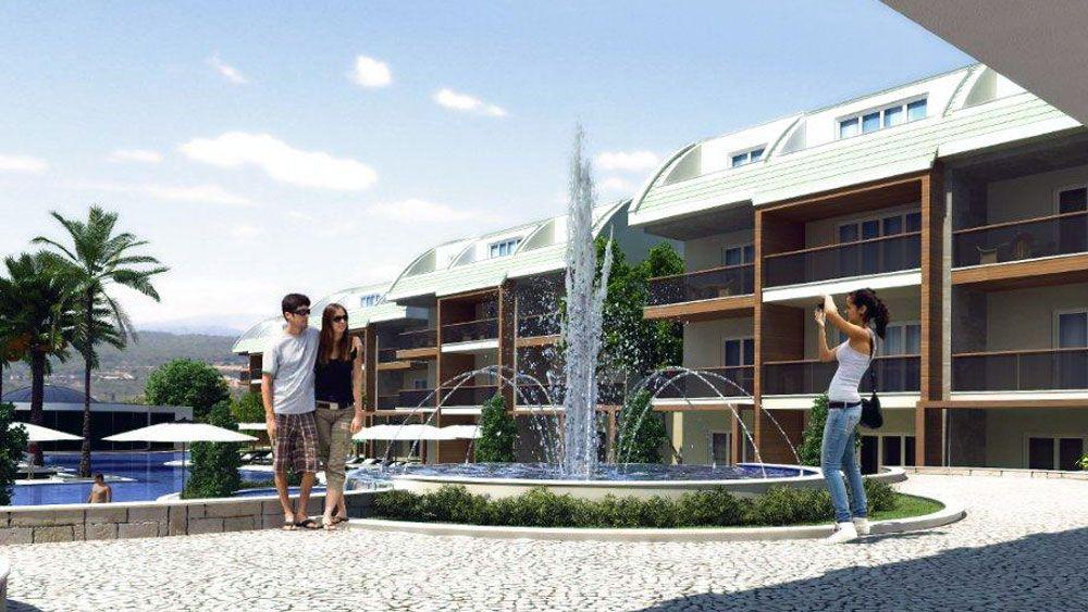 Резиденция Гардения - Апартаменты Гардения, Сиде