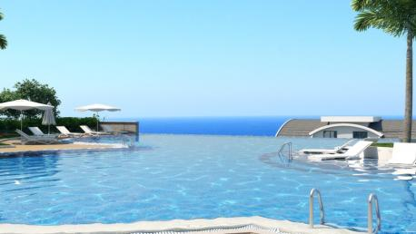 luxury seaview apartment in alanya kargicak turkey