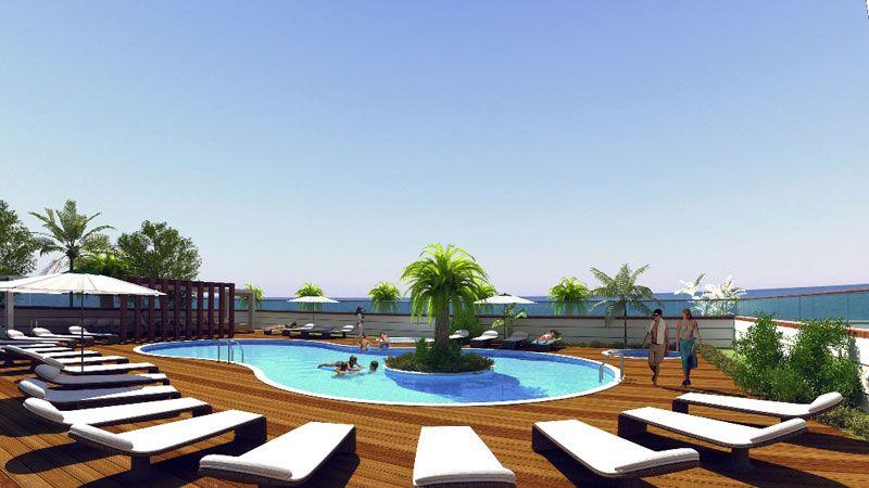 Резиденция Берег моря - Апартаменты класса Люкс в Аланье