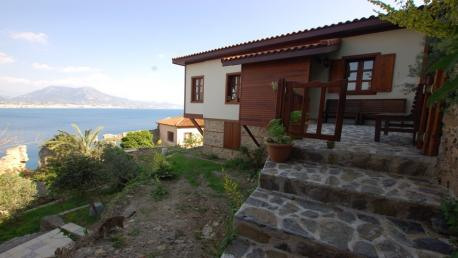 Seaview villa for sale in Alanya castle