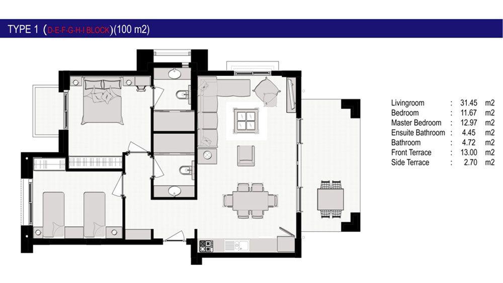Резиденция Долина - Стильная резиденция Долина в Сиде