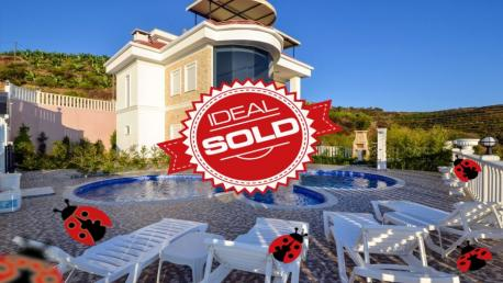 sold villa in Alanya