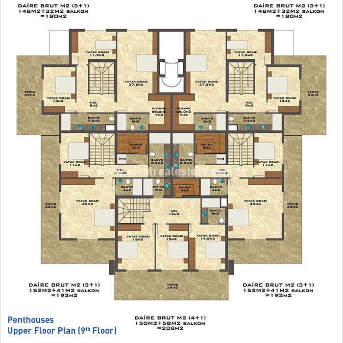 Дворец солнца, Тосмур - Резиденция Дворец солнца, Тосмур