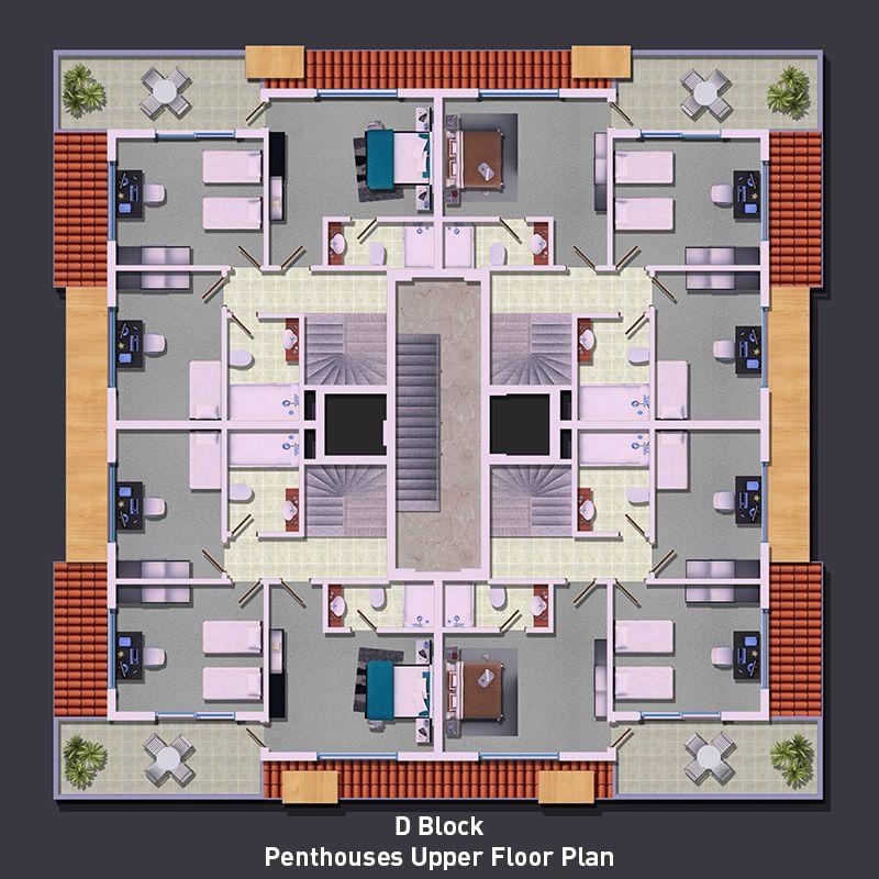 Дворец солнца, Оба - Элитные квартиры, Оба, Аланья