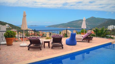 3 Bedroom Detached Villa Kalkan