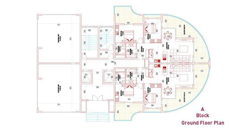 Резиденция Атриум - Элитные квартиры в Махмутлар, Аланья