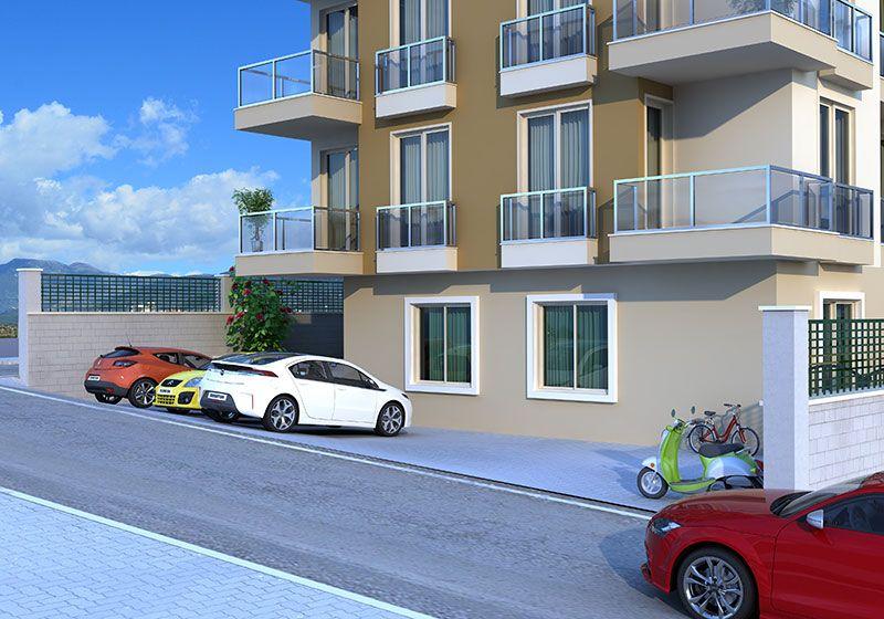 Енильмез хоум - Квартиры с 1 и 2 спальнями, Центр Аланьи