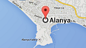 Map of Alanya City